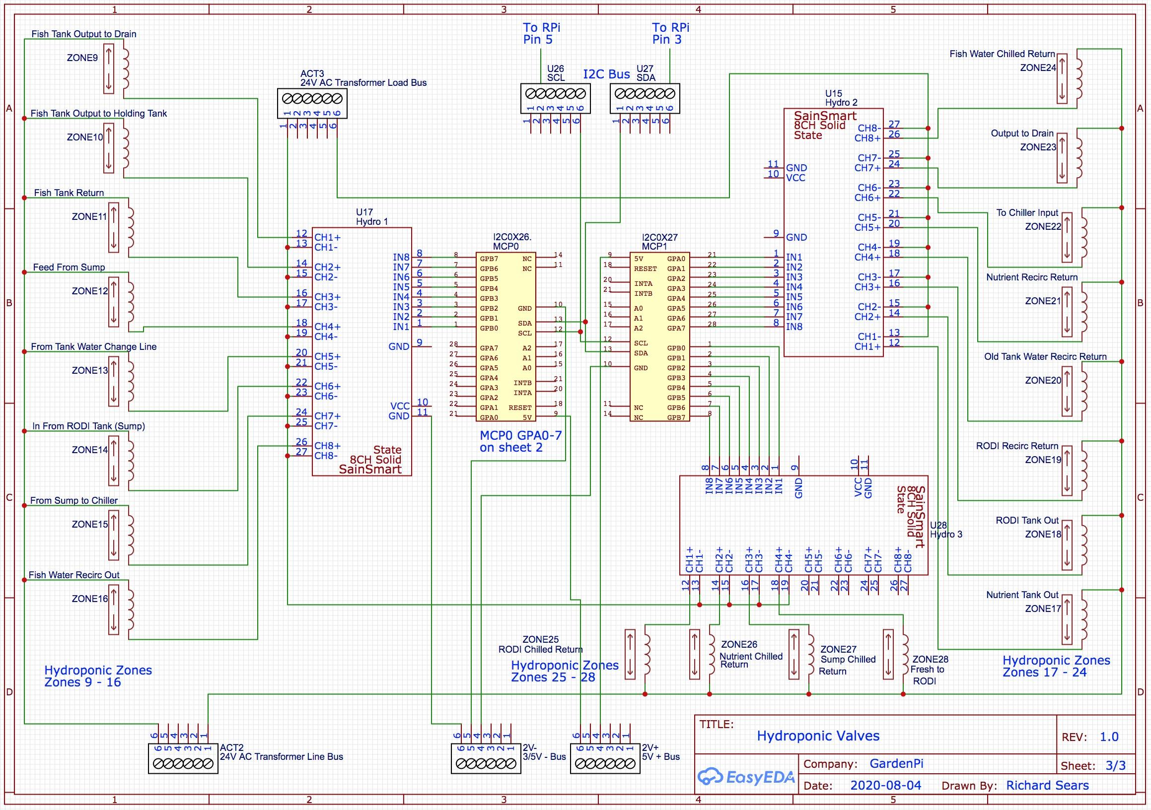 GardenPi Schematics Page 3