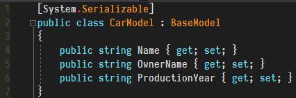 Model Code