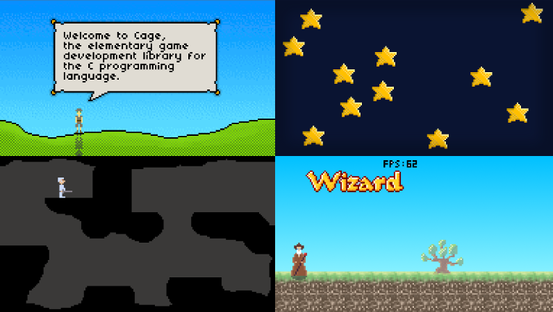 CAGE Screenshots