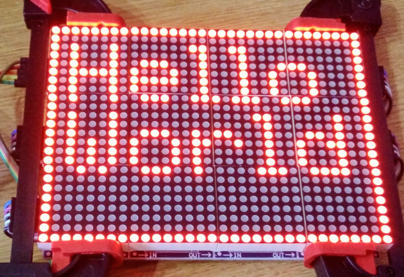 GitHub - rm-hull/luma led_matrix: Python module to drive LED