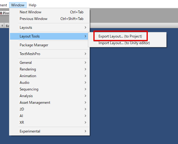 Unity Layout Exporter - UnityList