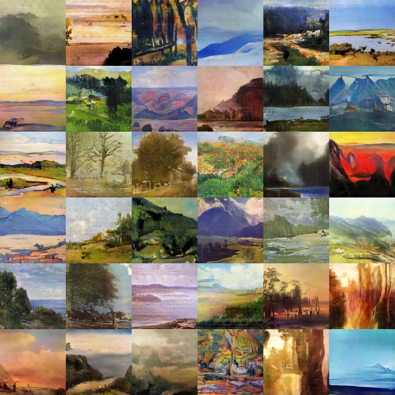 Batch of Landscapes