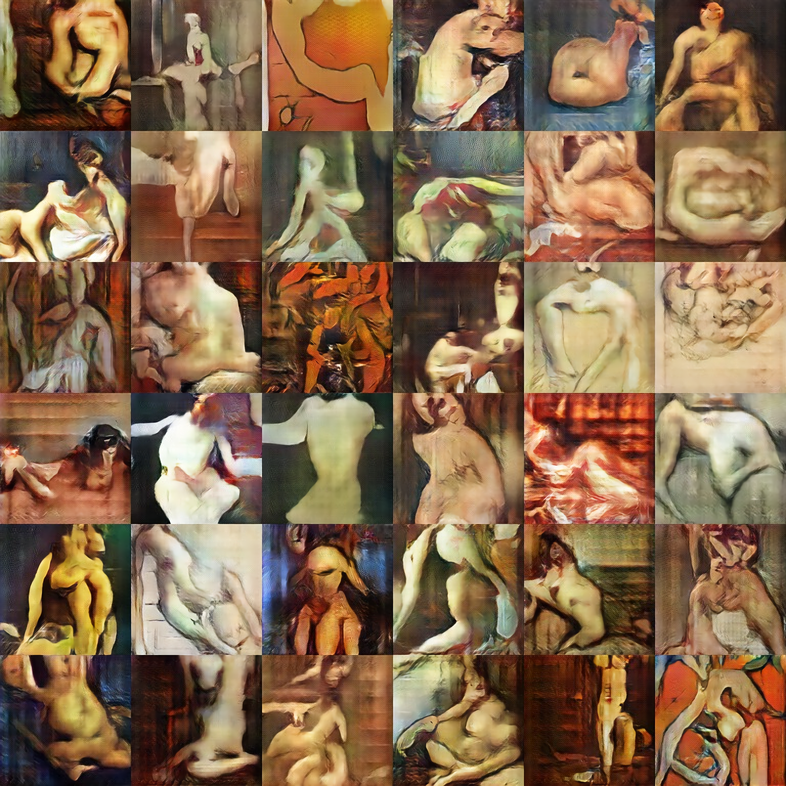 Batch of Nude-Portraits