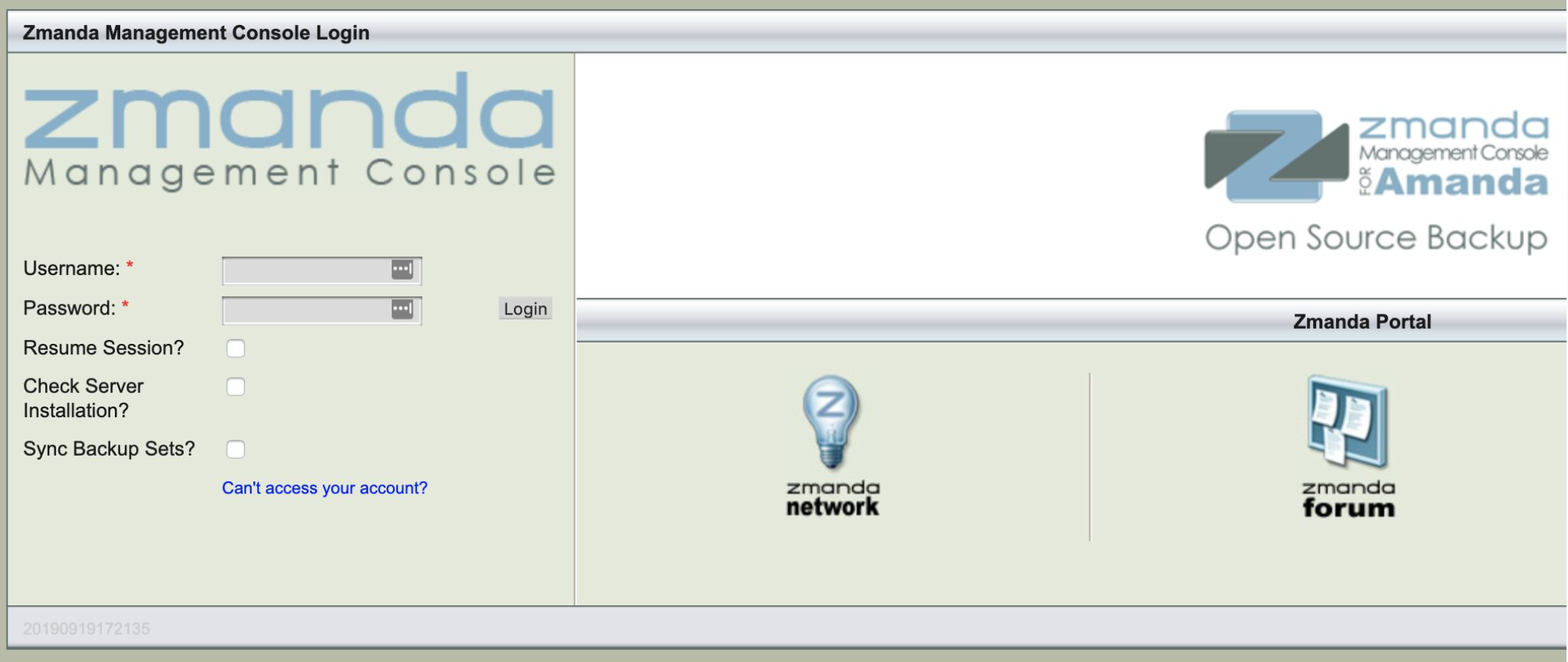 Zmanda Management Console 3.3.9