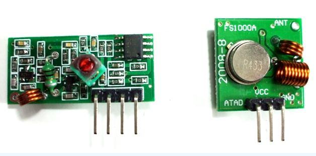 cheap tx rx modules 433mhz