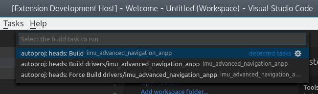 Autoproj Build Tasks