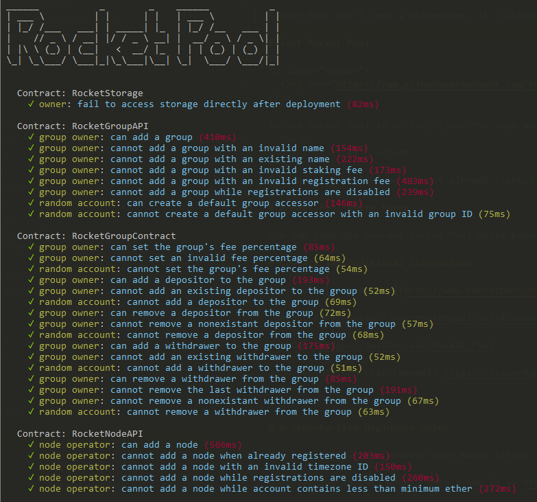 Rocket Pool - Testing Ethereum Proof-of-Stake (PoS) Infrastructure Service and Pool for Ethereum 2.0 Beacon Chain