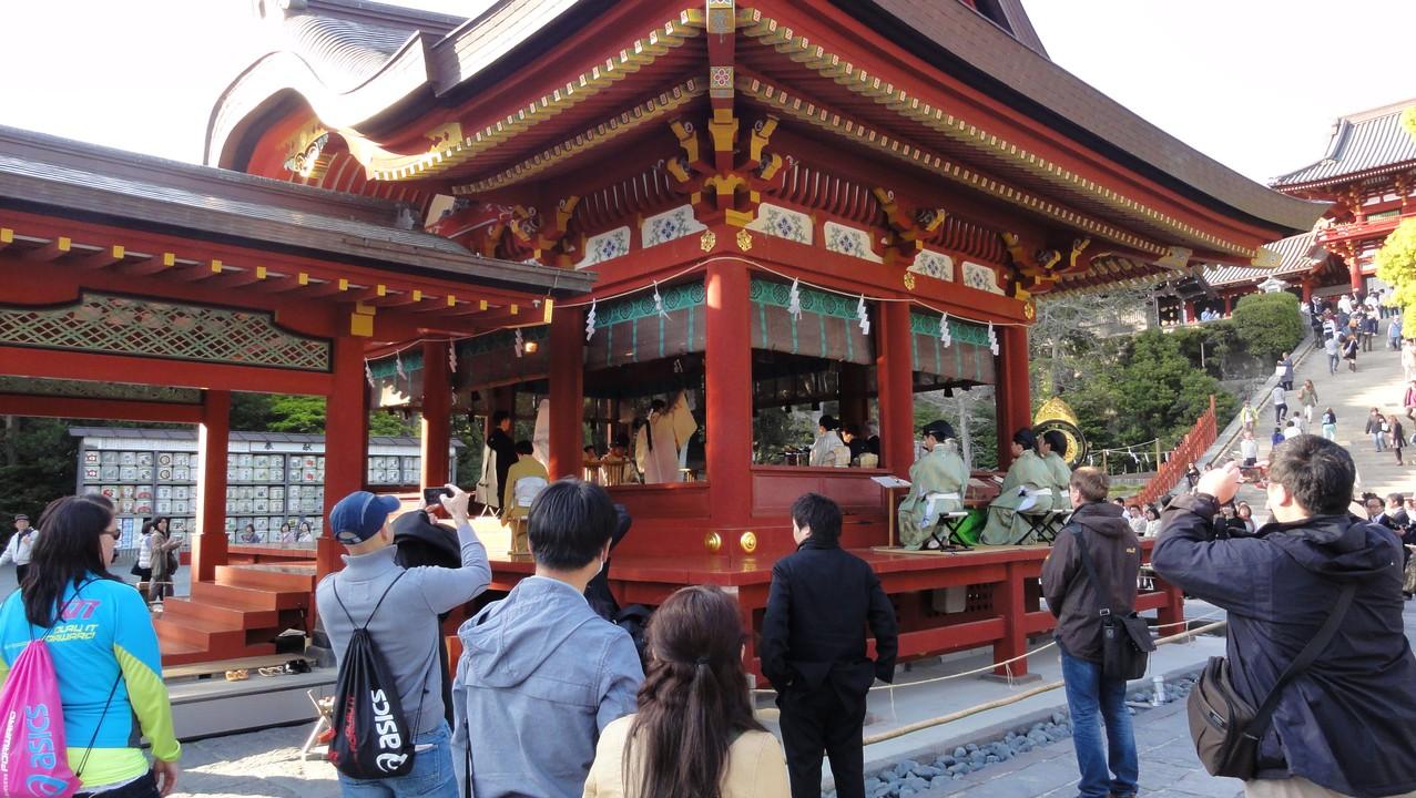 鶴岡八幡宮婚禮