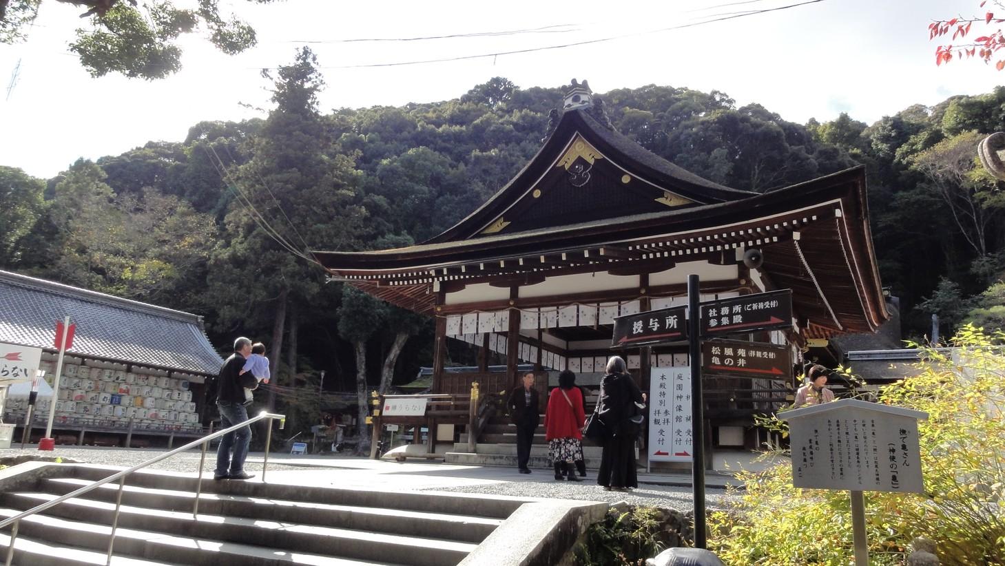 松尾大社社殿