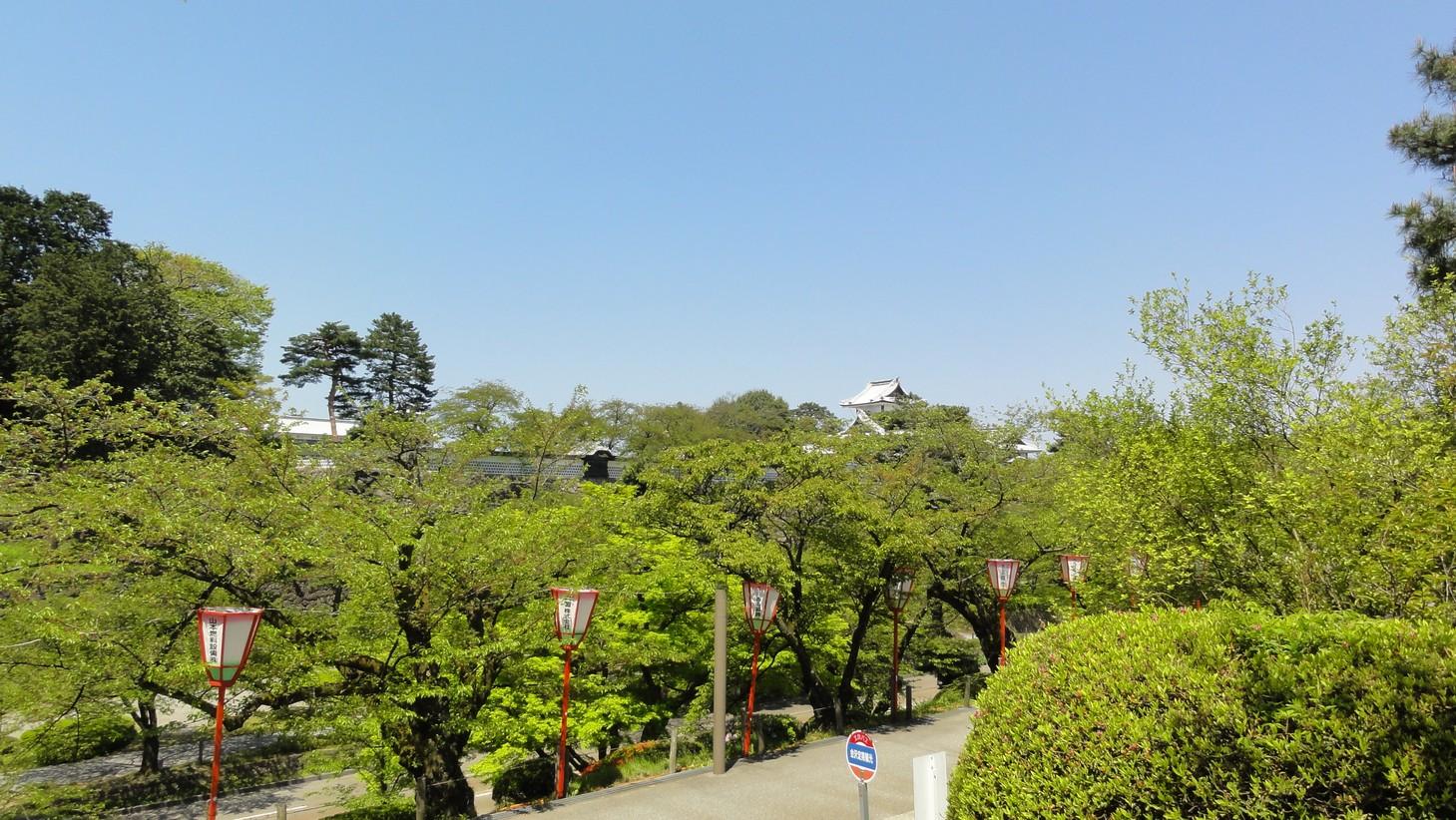遠望金沢城