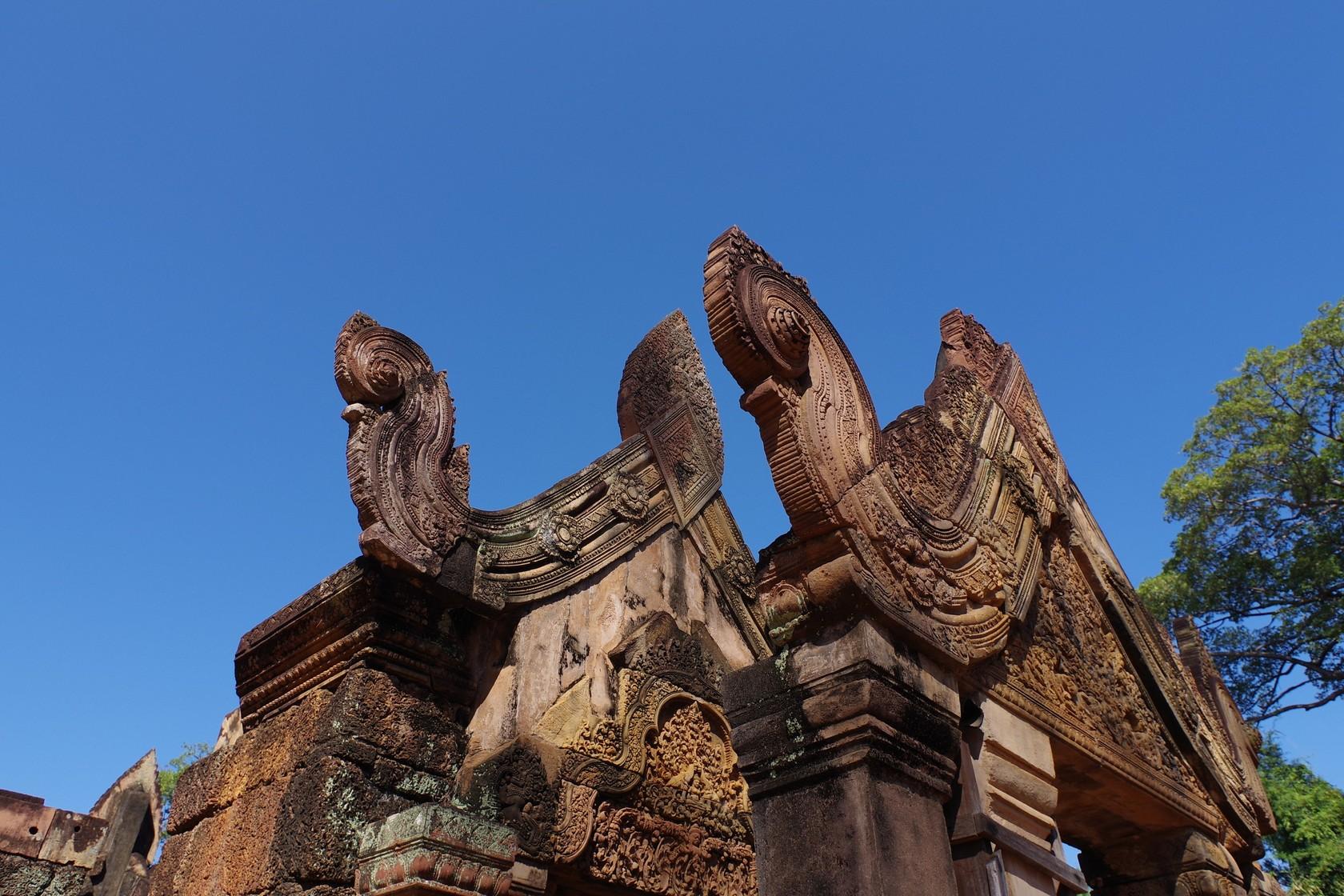 女皇宮屋簷雕刻