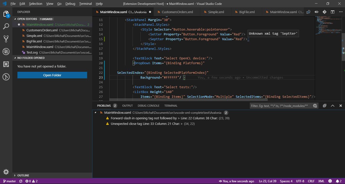 Xml Complete - Visual Studio Marketplace