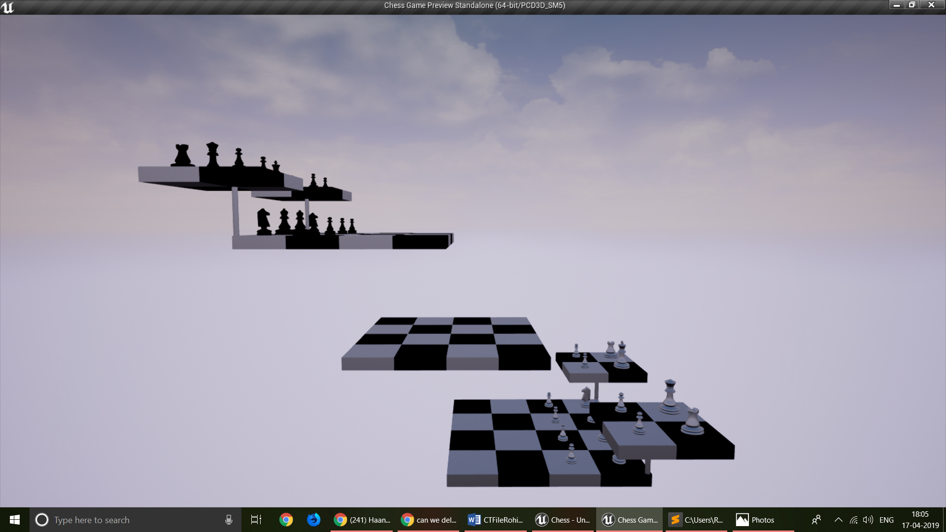 GitHub - rohit21p/Chess-3 0-UE4: This is a chess game, seen