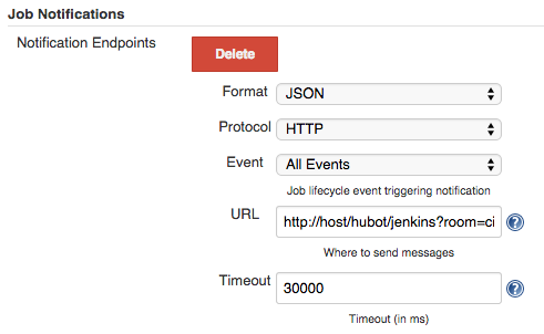 Add Notification endpoint