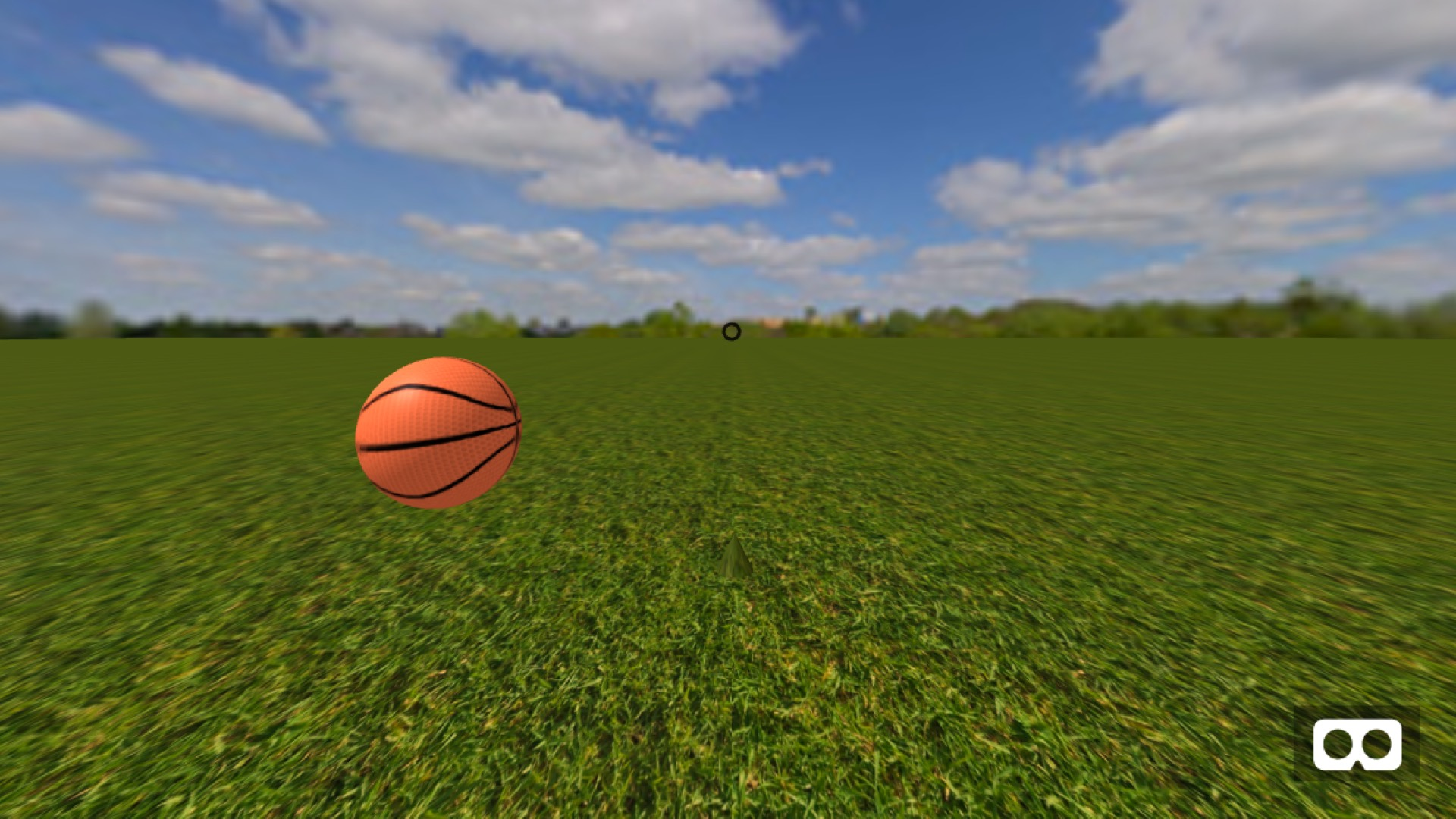 Gaze Ball Game