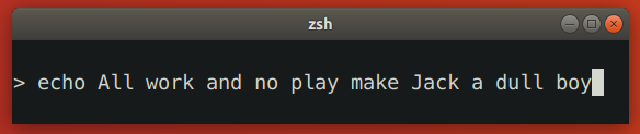 Zsh Prompt That Breaks on Terminal Shrinking 2