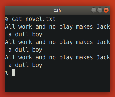 Terminal Reflows Text When Shrinking