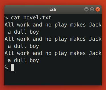 Terminal Reflows Text When Shrinking