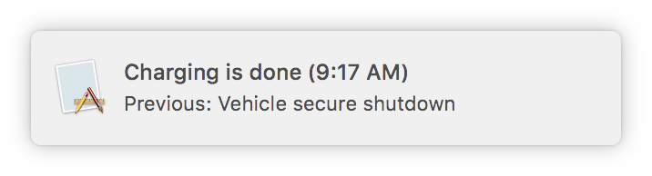 OSX notification screenshot