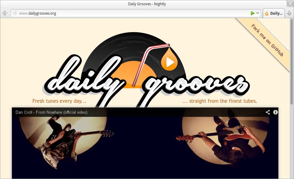 DailyGrooves screenshot