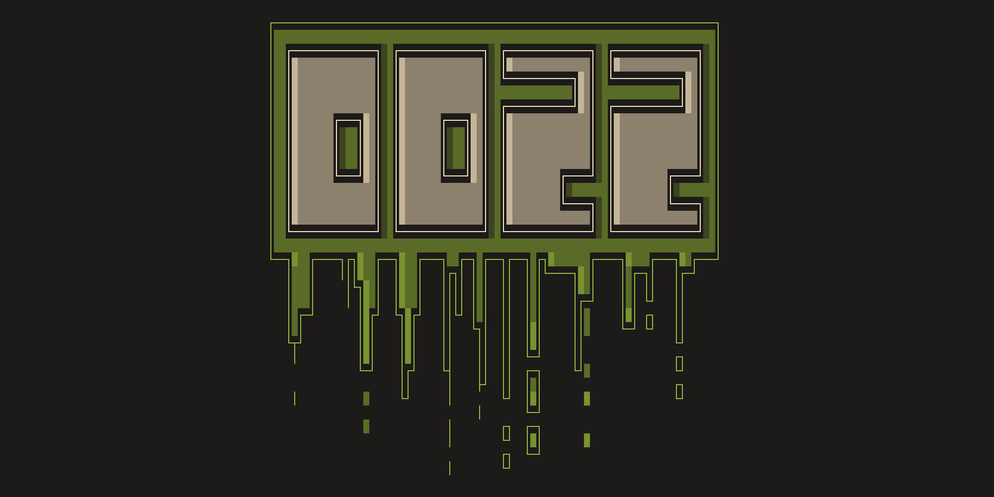 GitHub - roosta/oozz: ANSI art font with added oozz