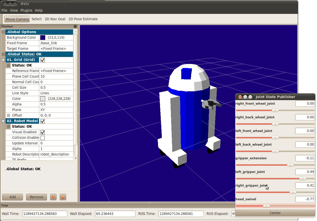 Screenshot of Flexible Model