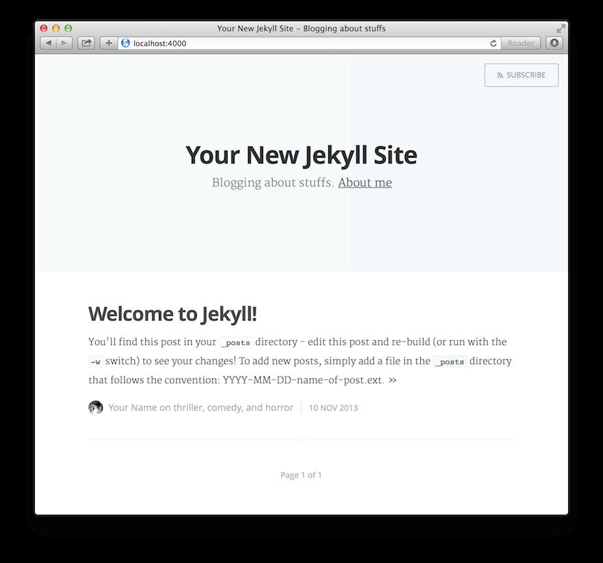 Update site design