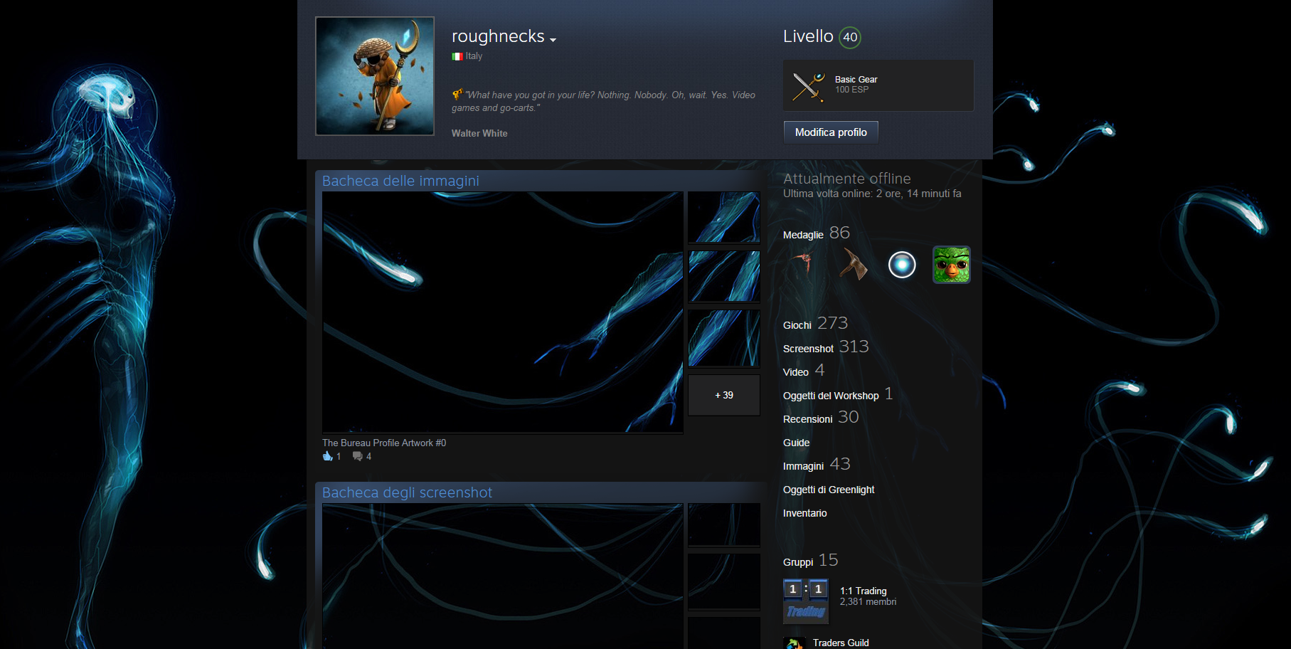 how to change your steam profile from private