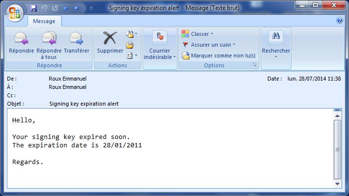 Bildirim e-postası