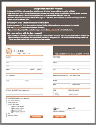 PDF imzalı belge önizlemesi