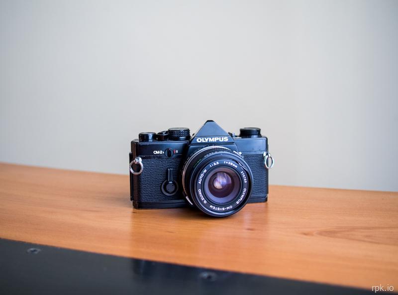Olympus OM2n - Zuiko Auto-W 28mm f:3.5
