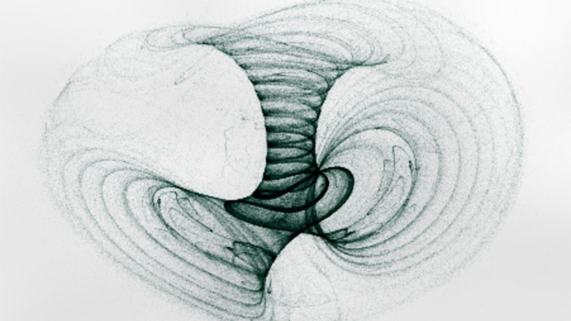 Strange attractors computed and displayed on the GPU