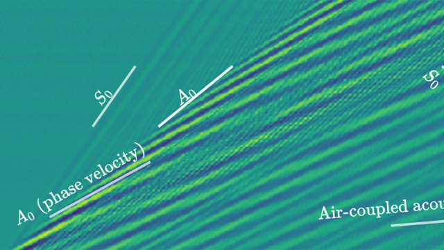 Guided Wave Transmission in a Ridge-Stiffened Plate
