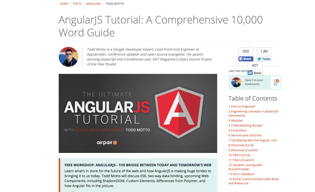 A fork of the list of 52 angularjs resources collected by jonathan angularjs tutorial a comprehensive 10000 word guide baditri Choice Image