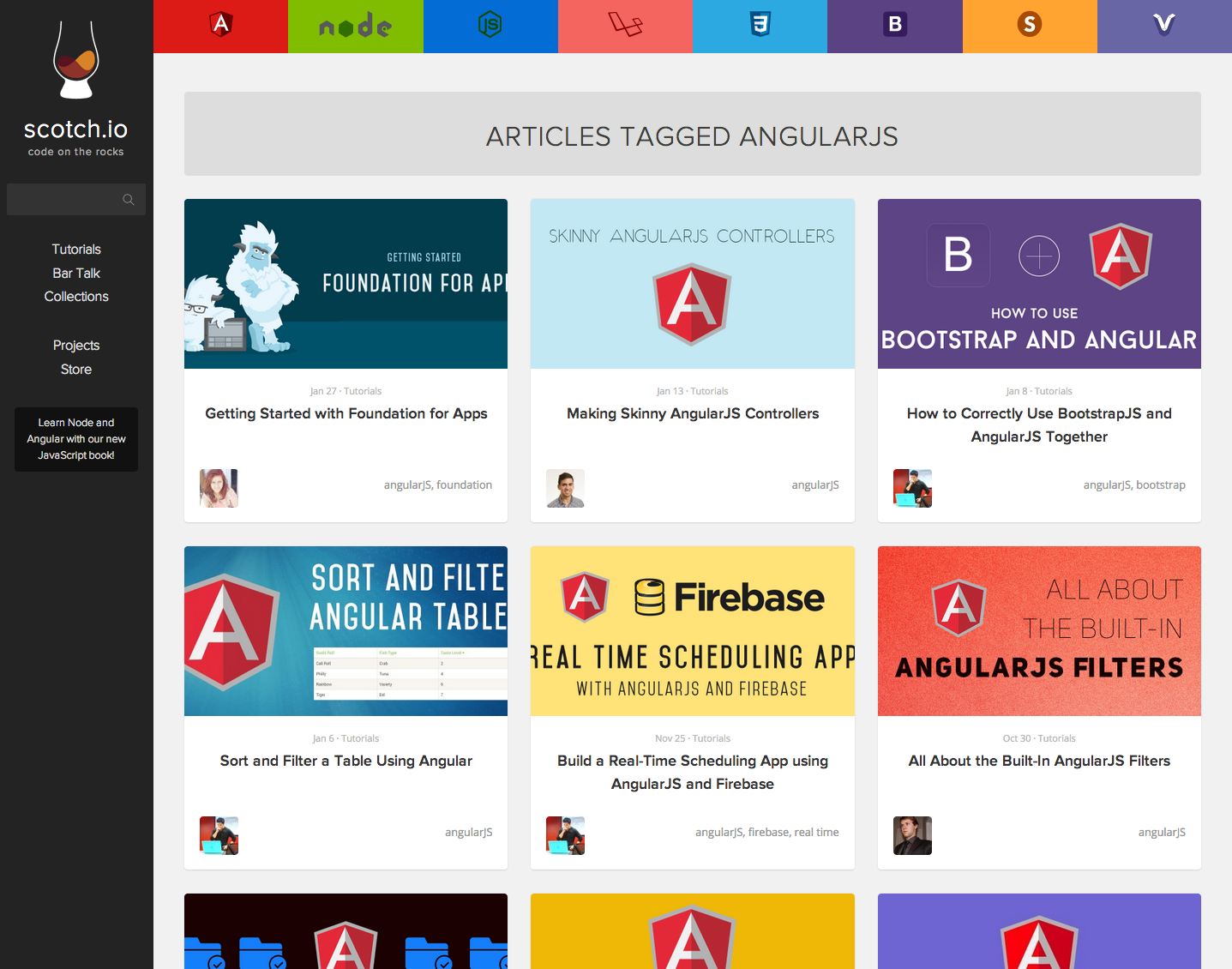 A fork of the list of 52 angularjs resources collected by jonathan scotch angularjs tutorials baditri Choice Image