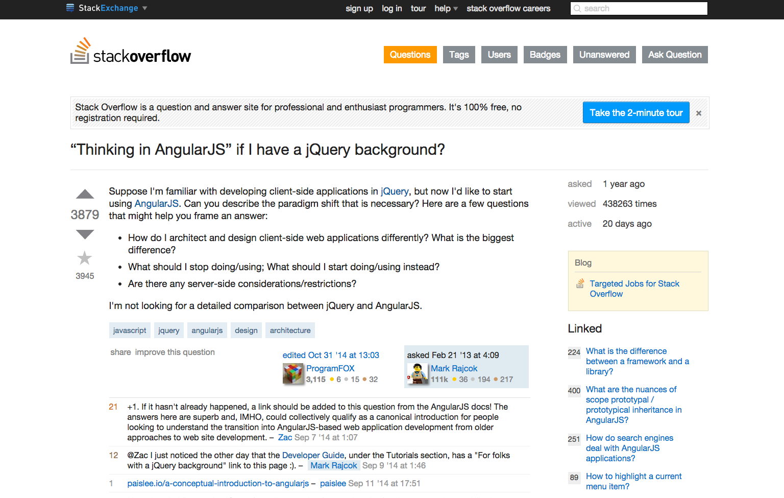 A fork of the list of 52 angularjs resources collected by jonathan from jquery to angular mindset baditri Choice Image