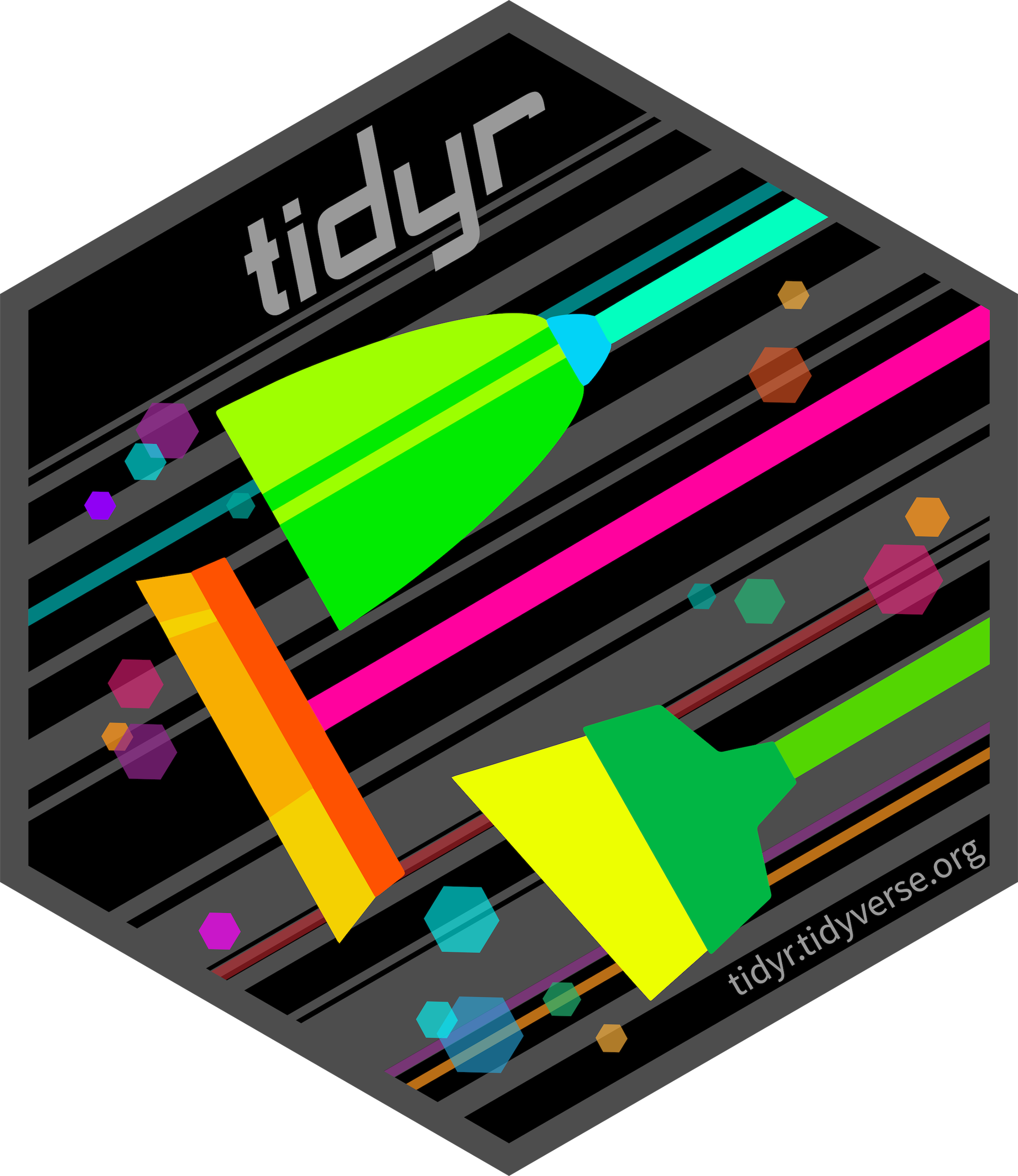 tidyr hex sticker