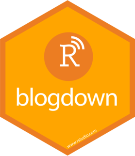 Logo for blogdown