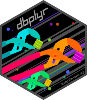 Logo for dbplyr