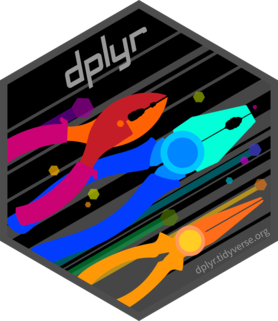 Logo for dplyr