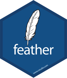 Logo for feather