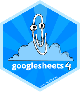 Logo for googlesheets4