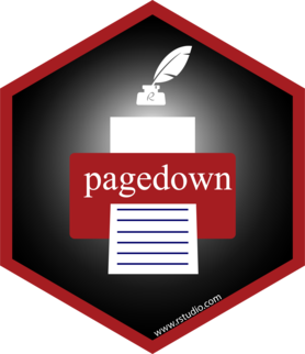 Logo for pagedown