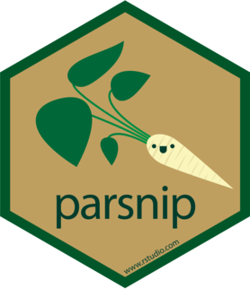 Logo for parsnip