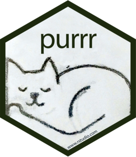Logo for purrr