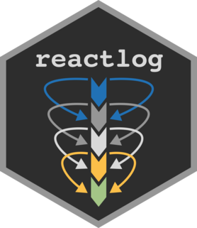 Logo for reactlog