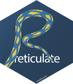 Logo for reticulate