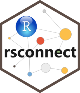 Logo for rsconnect