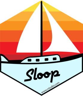 Logo for sloop
