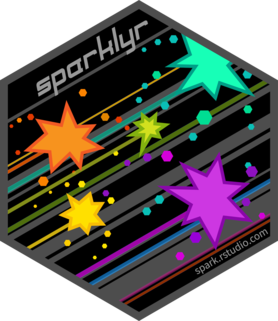 Logo for sparklyr